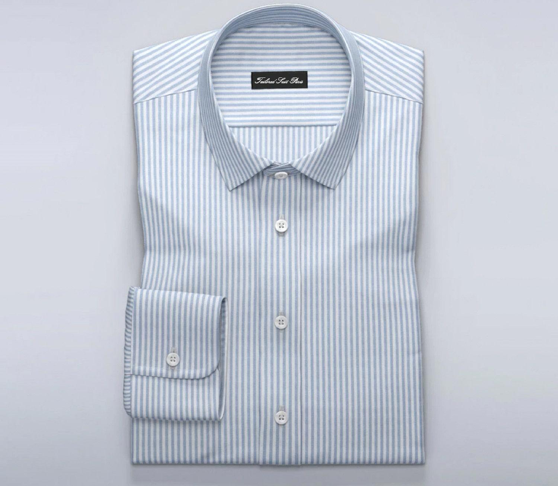 4174 murau blue men s shirt d3f2ed folded tailor store Costume en Déambulant