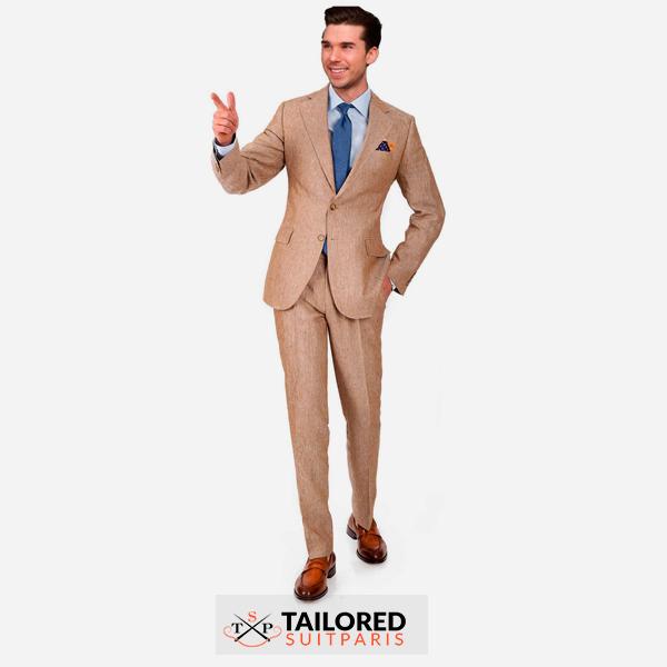 The linen suit.
